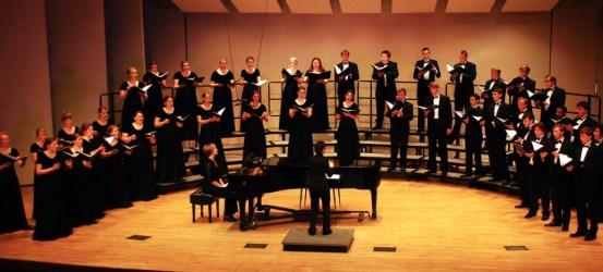 gradas especiales para coros