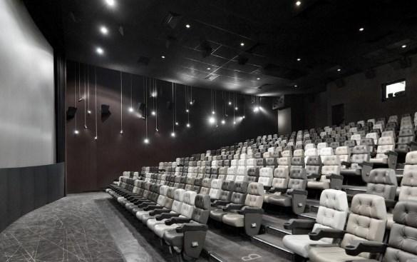 tapizados de paredes en cines