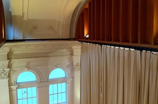 cortinas acusticas gran formato