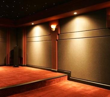 tapizados acusticos en teatros